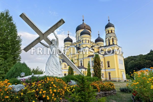 Photo of Hancu Monastery in Moldova - frimufilms.com