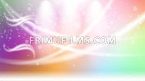 Digital vector abstract empty light rainbow - frimufilms.com