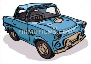 Digital vector sketch - frimufilms.com