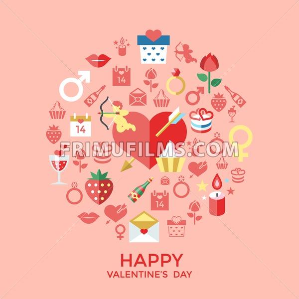 Happy Valentines Day Icons ✓ Valentine\'s Gift Ideas