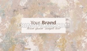 Luxury card with classic ornament Vector. Grunge background. Baroque intricate design illustration. Place for text - frimufilms.com