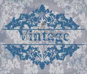 Vintage Wallpaper Vector Royal Ornament Elegant Pattern Texture Old Stained Effect