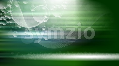 Digital vector green abstract empty background Stock Vector