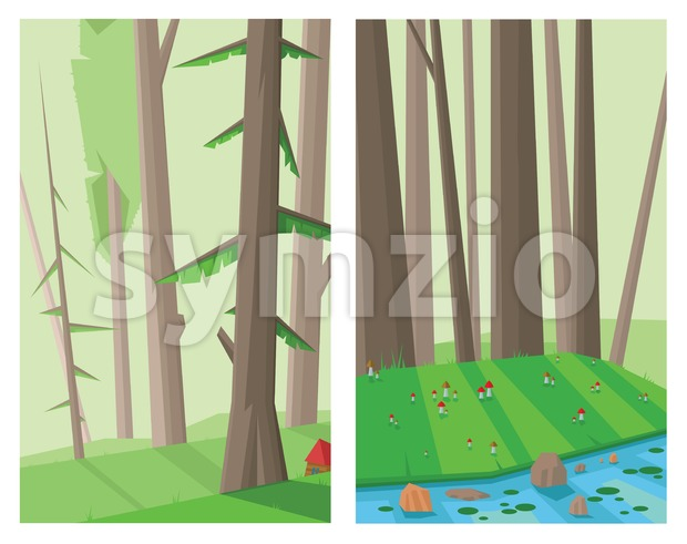 Digital vector abstract background Stock Vector